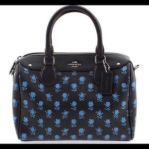Coach mini Bennett floral satchel in Badlands